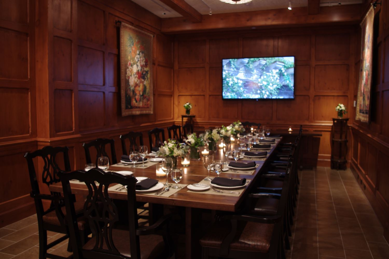 Palmer Room Group Event Space at O.Henry Hotel