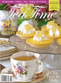 Tea Time Magazine article on afternoon tea at O.Henry Hotel