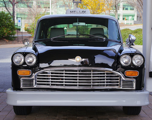 Checker Cab Front