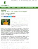Green Lodging News article