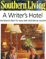 O.Henry Hotel Feature in Southern Living's Magazine. A Writer's Hotel