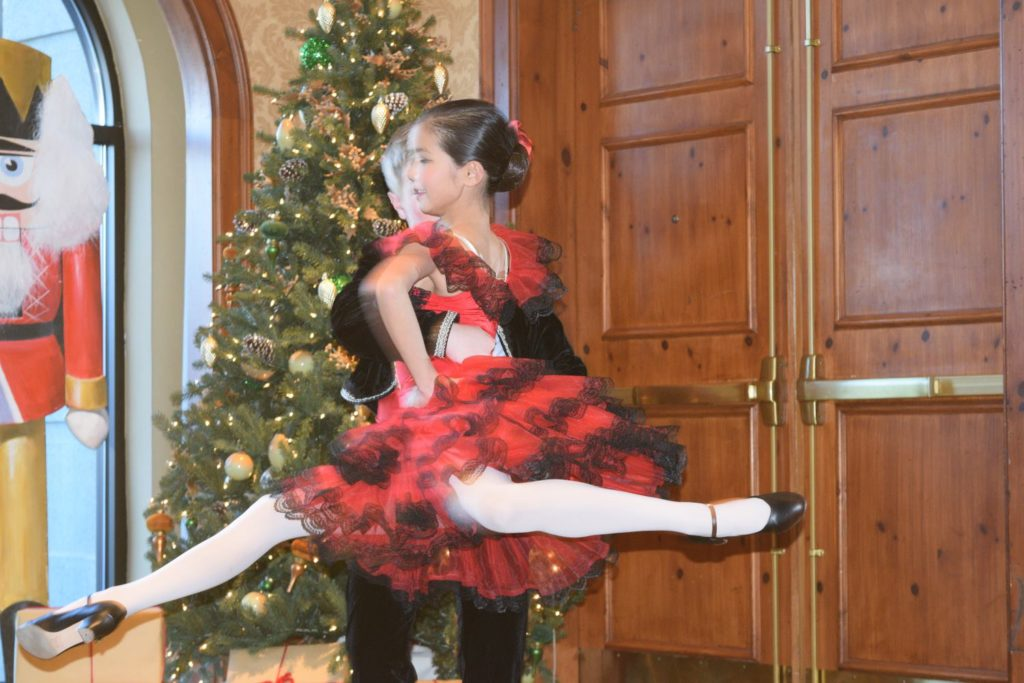 Ballet Dancers at the Nutcracker Tea at O.Henry Hotel