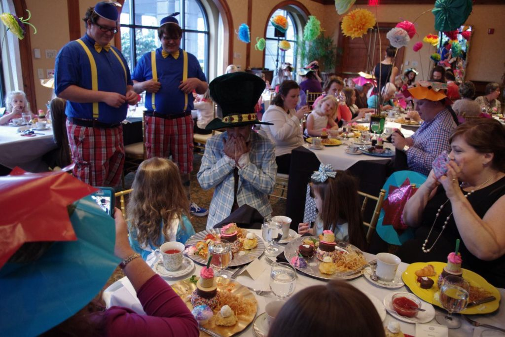 Mad Hatter at Mad Hatter Tea