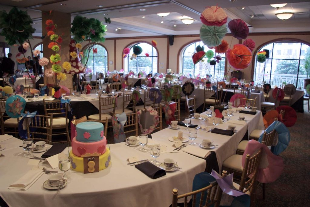 Mad Hatter Tea at O.Henry Hotel