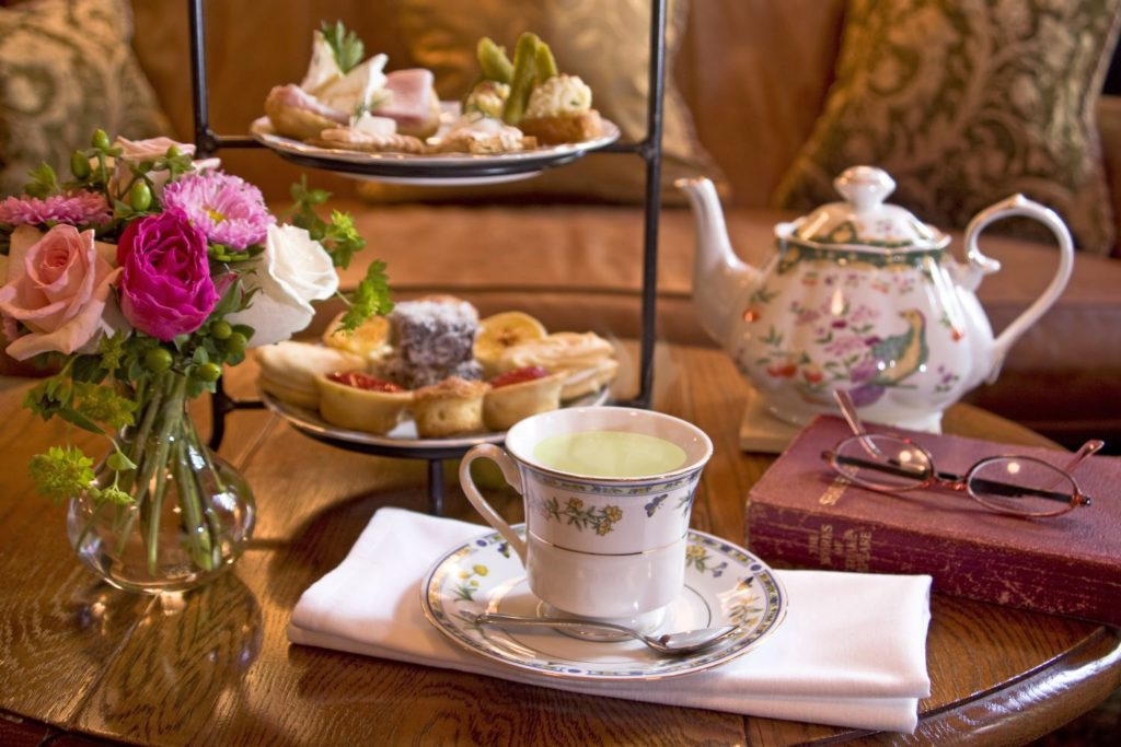 Afternoon Tea in the Social Lobby of O.Henry Hotel