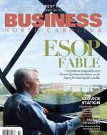 Business North Carolina, ESOP Fable Cover