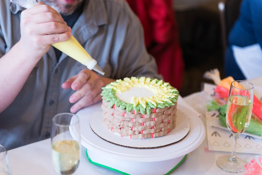 Cake Decorating Classes at Proximity Hotel and Print Works Bistro in Greensboro